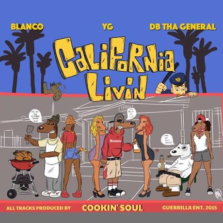 California-Livin-YG-Cookin-Soul-Cover