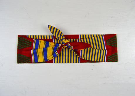 DIY Haarband zum Knoten mit kostenlosem Schnittmuster Nähen für Anfänger Bandana Rockabilly 5
