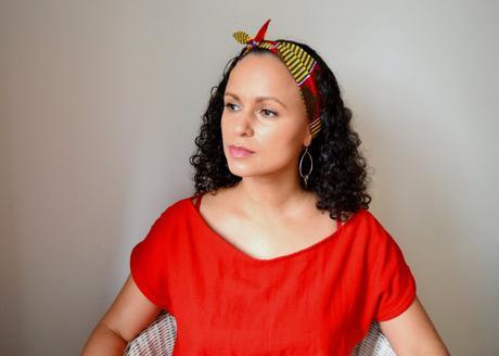 DIY Haarband zum Knoten mit kostenlosem Schnittmuster Nähen für Anfänger Bandana Rockabilly 4
