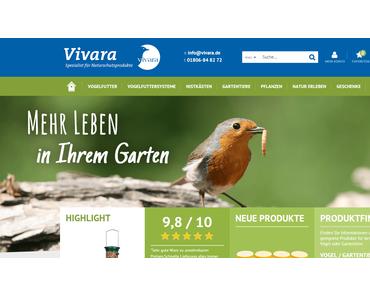 Vivara.de hat einen neuen Look