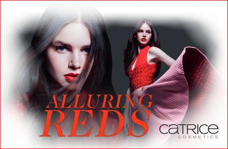 "[Preview] Limited Edition "" Alluring Reds "" by CATRICE"