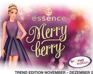 essence merry berry Trend Edition