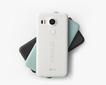 LG Nexus 5X offiziell vorgestellt – ab Mitte Oktober erhältlich