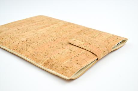 DIY Laptophülle aus Kork