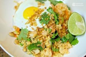 Nasi Goreng (Indonesische Reispfanne)