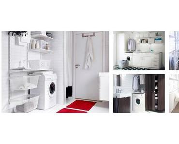 Die Waschküche: Eine praktische Einrichtung erleichtert die Hausarbeit