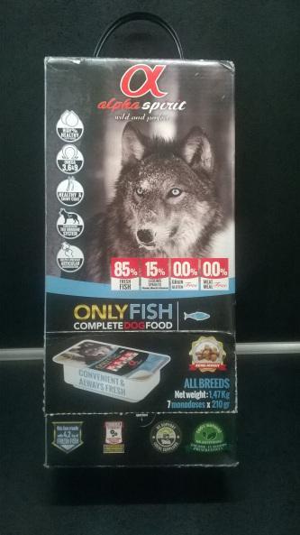Alpha Spirit only Fish Hundefutter
