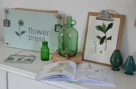 DIY Pflanzenpresse / diy flower press