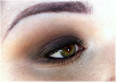braunes smokey eye