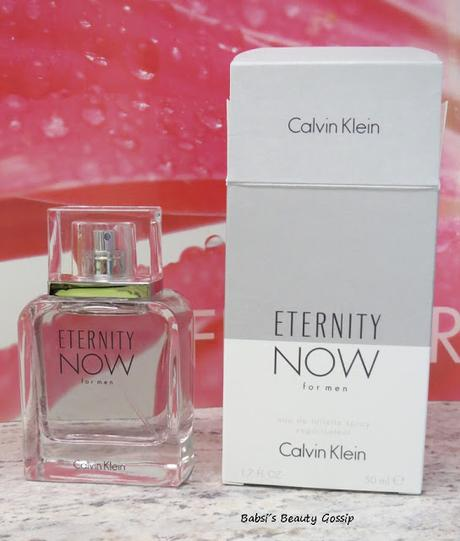ETERNITY NOW for men Calvin Klein - Review: