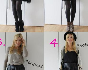"1 Teil – 4 Looks: ""It-Piece"" Fransen-Rock"