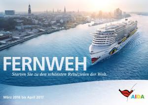Neuer Katalog: AIDA Cruises veröffentlicht Kreuzfahrtprogramm bis Oktober 2017