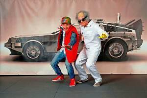 AIDA Cruises veranstaltet Deutschlands größte Marty McFly Willkommensparty auf See