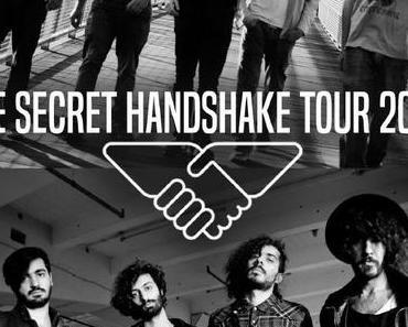 ++ THE SECRET HANDSHAKE TOUR ++ erste gemeinsame Tour einer iranischen und israelischen Pop-Band durch Deutschland ++ #secrethandshake ++