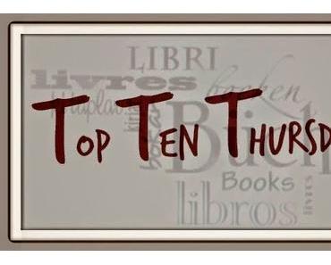 Top Ten Thursday # 229 | 10 Bücher von der Wunschliste