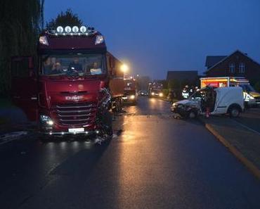 Tödlicher Verkehrsunfall Hollern-Twielenfleth