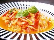 Pasta Tomaten-Knoblauch Sauce