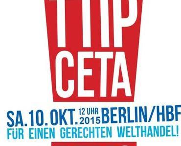 Heute Mega-Demo gegen TTIP in Berlin