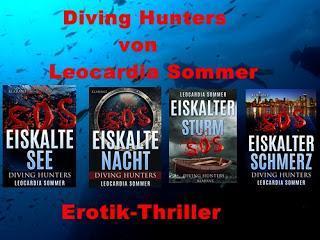 """[Klarant News] Band 4 der Diving Hunters Reihe """"Eiskalter Schmerz"""" von Leocardia Sommer"""