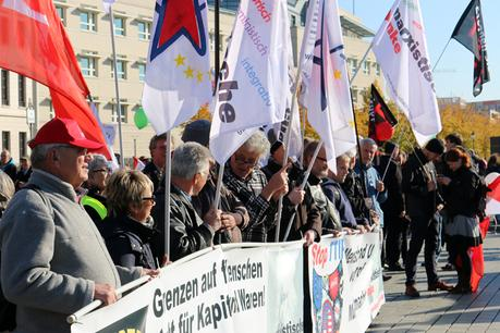 TTIP-Demo Berlin, 10.10.2015