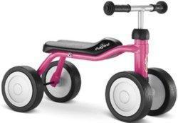 Mit vier Rädern – Laufrad Pukylino lovely pink im Test
