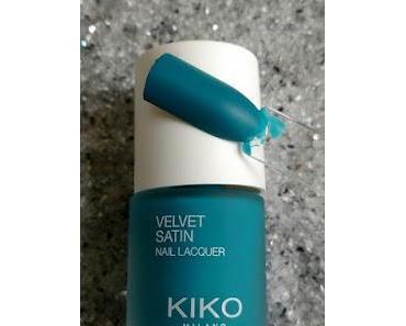 [Nails] KIKO VELVET SATIN 693 Cadet Blue