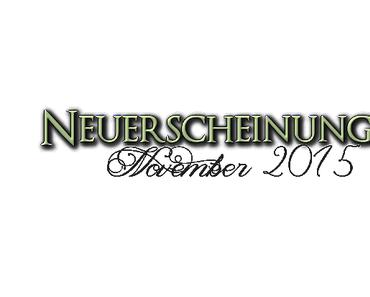 [Neuerscheinungen] November 2015 (Teil 1)