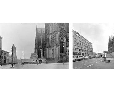 Dresden: Plätze in Deutschland 1950 und heute