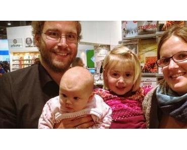 Familienausflug zur Frankfurter Buchmesse
