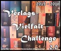 [Verlags-Vielfalt-Challenge] 1. Monat - Lesefortschritt (15.09.-14.10.2015)