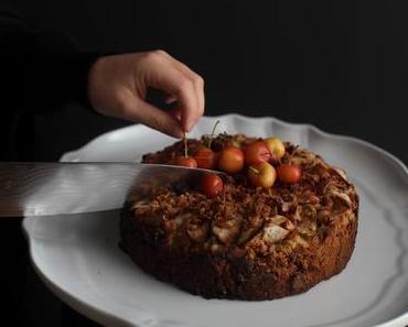 Mandelmehl Apfelkuchen