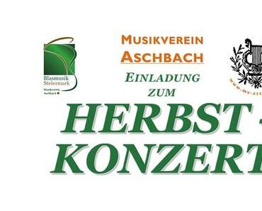 Termintipp: Herbstkonzert des MV-Aschbach 2015