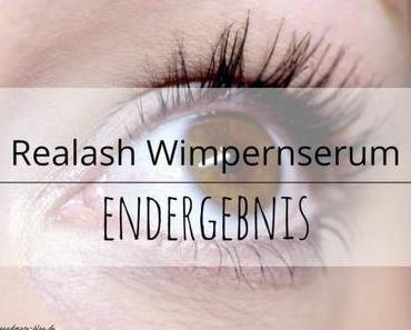 Realash Wimpernserum Endergebnis – Review