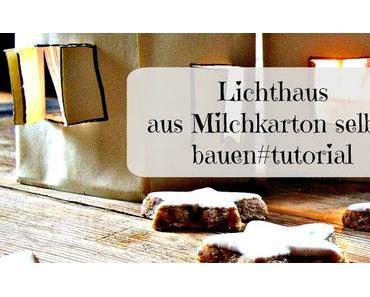 Freitagsbasteln - Lichthäuser basteln