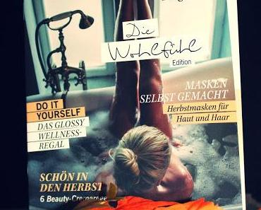 "Glossybox Oktober 2015 ""Wohlfühl - Edition"""