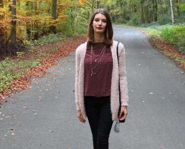 Herbstoutfit und Flauschcardigan