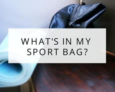 Whats in my Sport Bag?