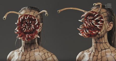 killer snail das wohl beste halloween makeup in diesem jahr