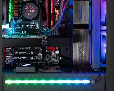 NZXT präsentiert PC-Beleuchtung HUE+