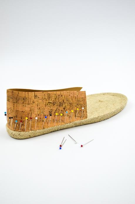 DIY Espadrilles aus Kork