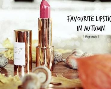 My favourite lipstick in autumn