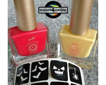 [Nails] Specialties: Halloween mit p2 CULTURE SPIRIT 010 vermeil & 020 amber
