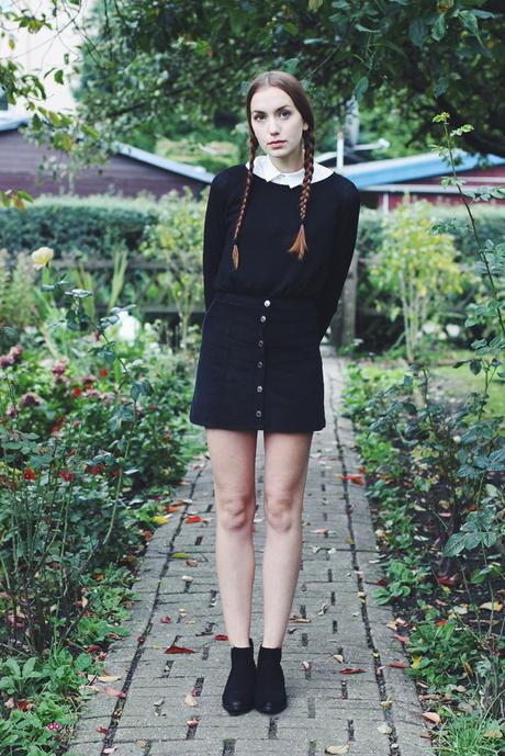 Blogtober 30. // Costume: Wednesday Addams