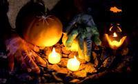 Halloween DIY Geisterhände
