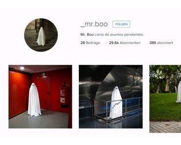 Mr. Boo – Ein Geist auf Instagram