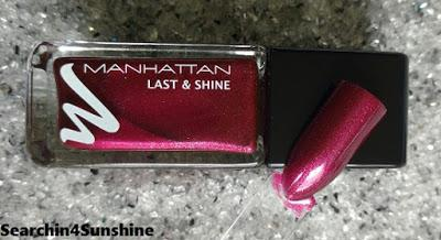 [Nails] MANHATTAN LAST & SHINE 550 GIMME MORE
