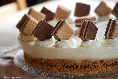 Kostlich Knusprige Knoppers Torte