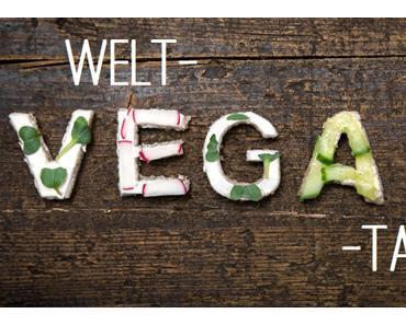 An alle Nicht-Veganer: Wie wäre es mal mit einem veganen Tag? Oder passend zum Weltvegantag: Alle guten Dinge sind 3.