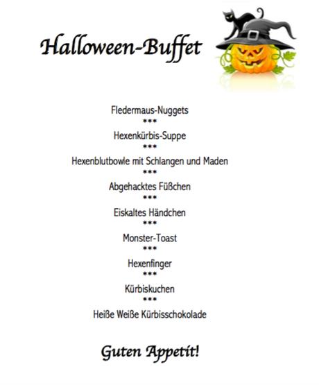 Partyrezepte halloween party – Gesundes essen und rezepte foto blog