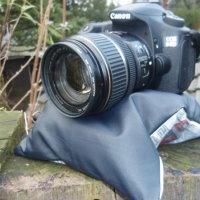 diy nähen nähanleitung beanbag kamerakissen für kamera stativ selbst selber machen idee wie mache ich befestigen anleitung geschenkidee für freund fotografie fotograpg